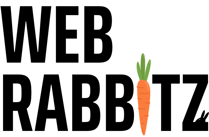 Logo Web Rabbitz 🥕 - Website maken in Waddinxveen