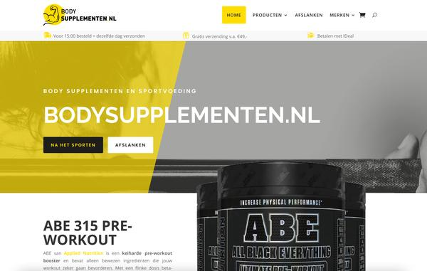 Bodysupplementen.nl - Web Rabbitz 🥕